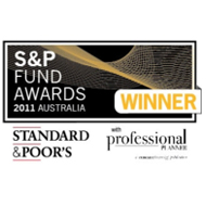 2011 S&P Fund Awards - Sector Award Winner for Australian Equities - Large Cap